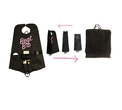 The Beat Bib Two-In-One Makeup Bag