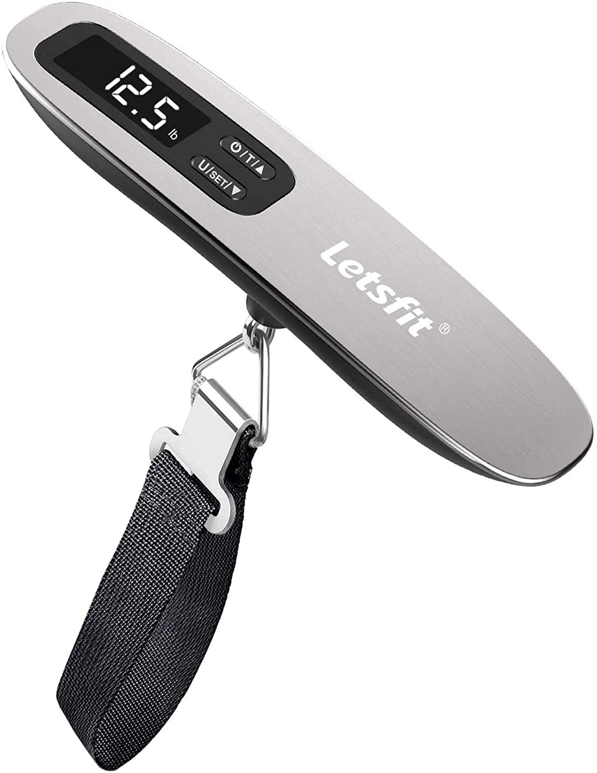 Letsfit Digital Hanging Luggage Scale With Backlit LCD Display
