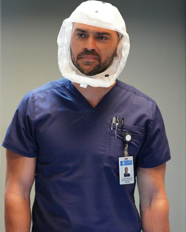 Jesse Williams as Jackson Avery in Grey's Anatomy.