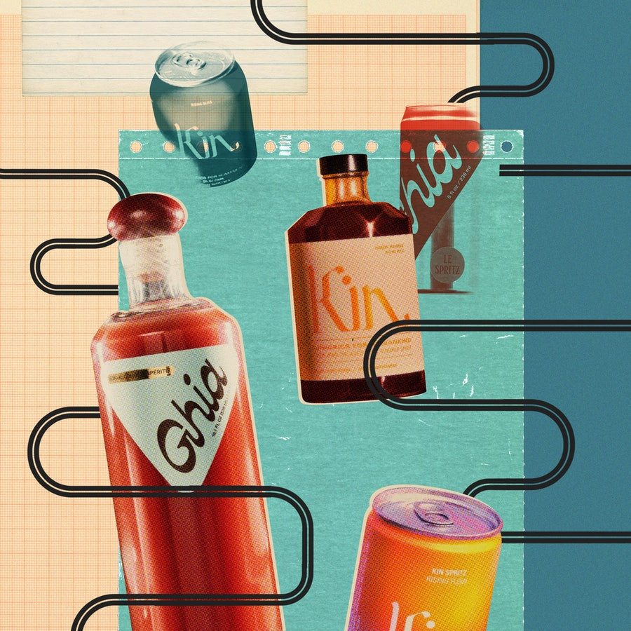 Sobriety is getting a rebrand, thanks to nonalcoholic drinks with Instagram-worthy designs.