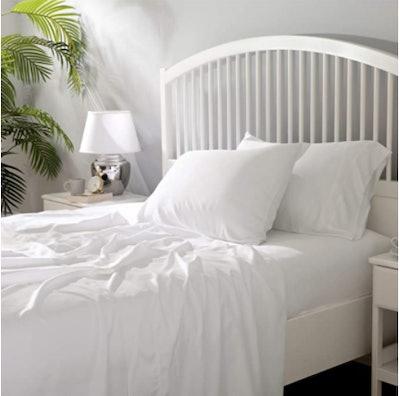 Bedsure 100% Bamboo Sheets, 4-Piece Set