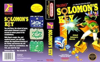 solomons key box art dana