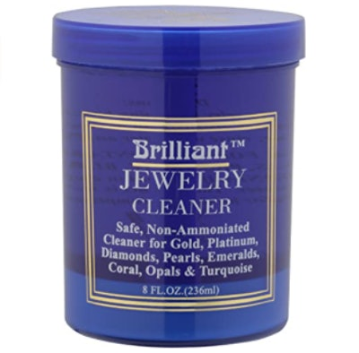 Brilliant Jewelry Cleaner with Cleaning Basket and Brush