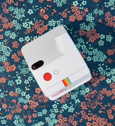 Polaroid Go review: The flash button also activates the timer and double exposure mode.