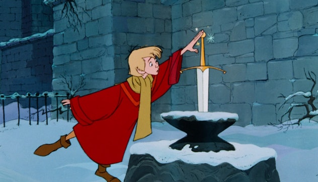 'The Sword in the Stone' is based on the novel 'The Once And Future King.'