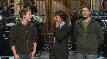 Elon Musk SNL Mark Zuckerberg
