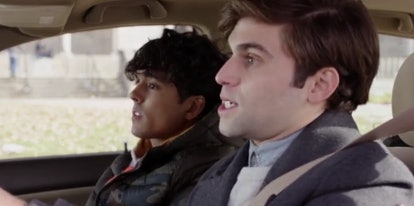 Jake Borelli stars in 'The Thing About Harry.' Screenshot via Freeform