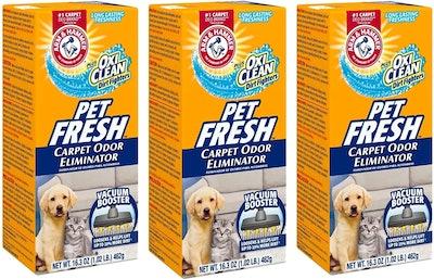 Arm & Hammer Pet Fresh Carpet Odor Eliminator (3-Pack)