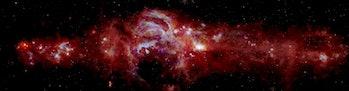 center of milky way galaxy