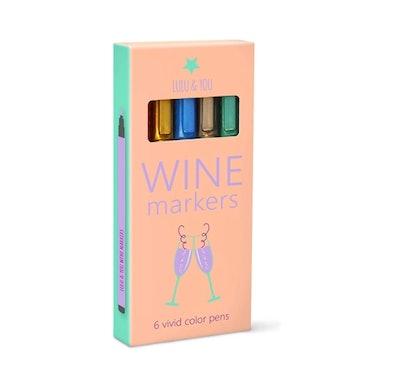 Lulu & You Wine Glass Markers