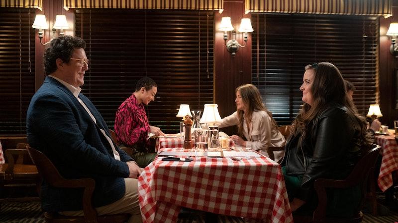 Annie (Aidy Bryant) and Will (Cameron Britton) on Shrill Season 3.