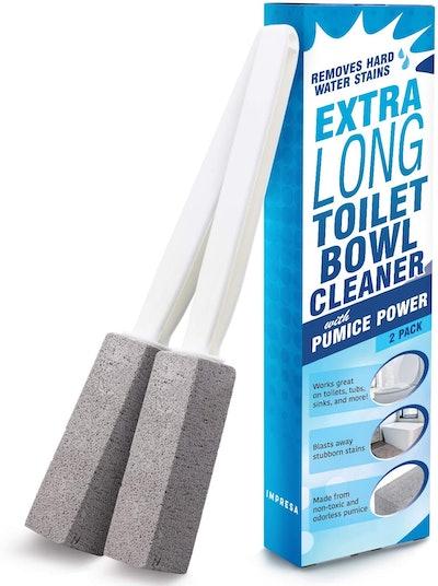Impresa Pumice Stone Toilet Bowl Cleaner (2 Pack)