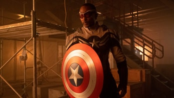 Anthony Mackie as Sam Wilson in The Falcon and the Winter Soldier finale