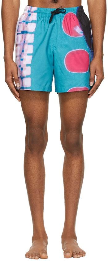 Dries Van Noten x Len Lye Swim Shorts