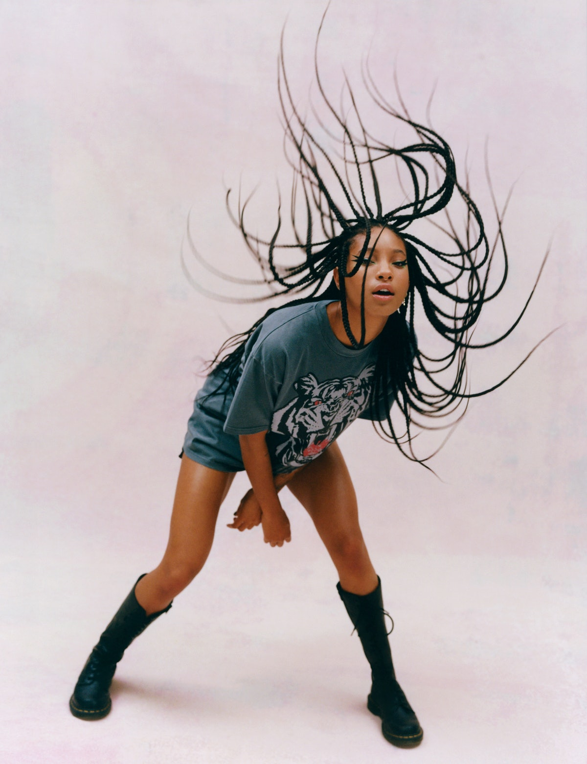 Willow Smith in Onitsuka Tiger T-shirt