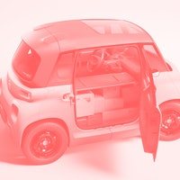 Citroën is making a cargo version of its tiny electric car