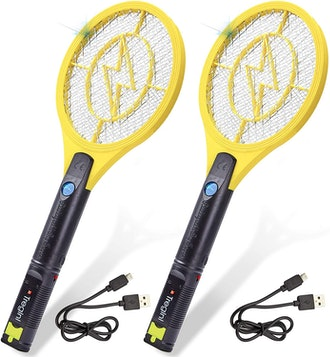 Tregini Mini Electric Fly Swatter (2- Pack)