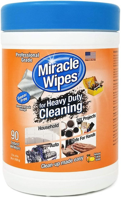 MiracleWipes for Heavy Duty Cleaning (90 Count)