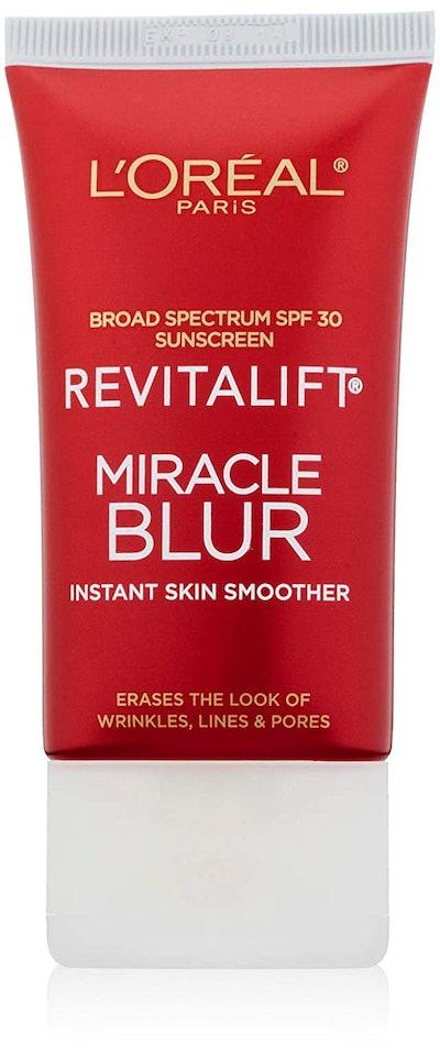 L'Oreal Paris Skincare Revitalift Miracle Blur Instant Skin Smoother Primer (1.18 Oz)