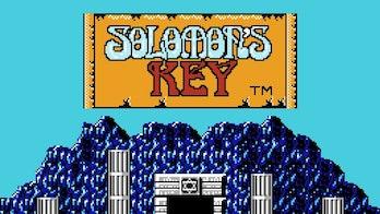 solomons key title screen