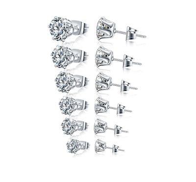 Manufac Stainless Steel Stud Earrings