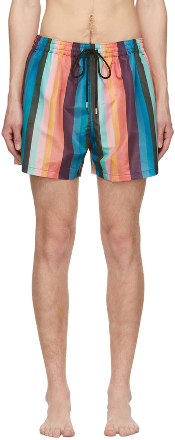 Paul Smith Artist Stripe Swim Shorts