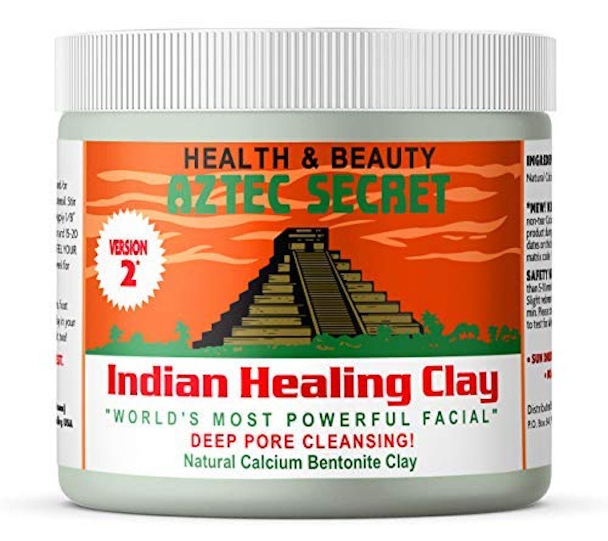 Aztec Secret Indian Healing Deep Pore Cleansing Clay Facial & Body Mask