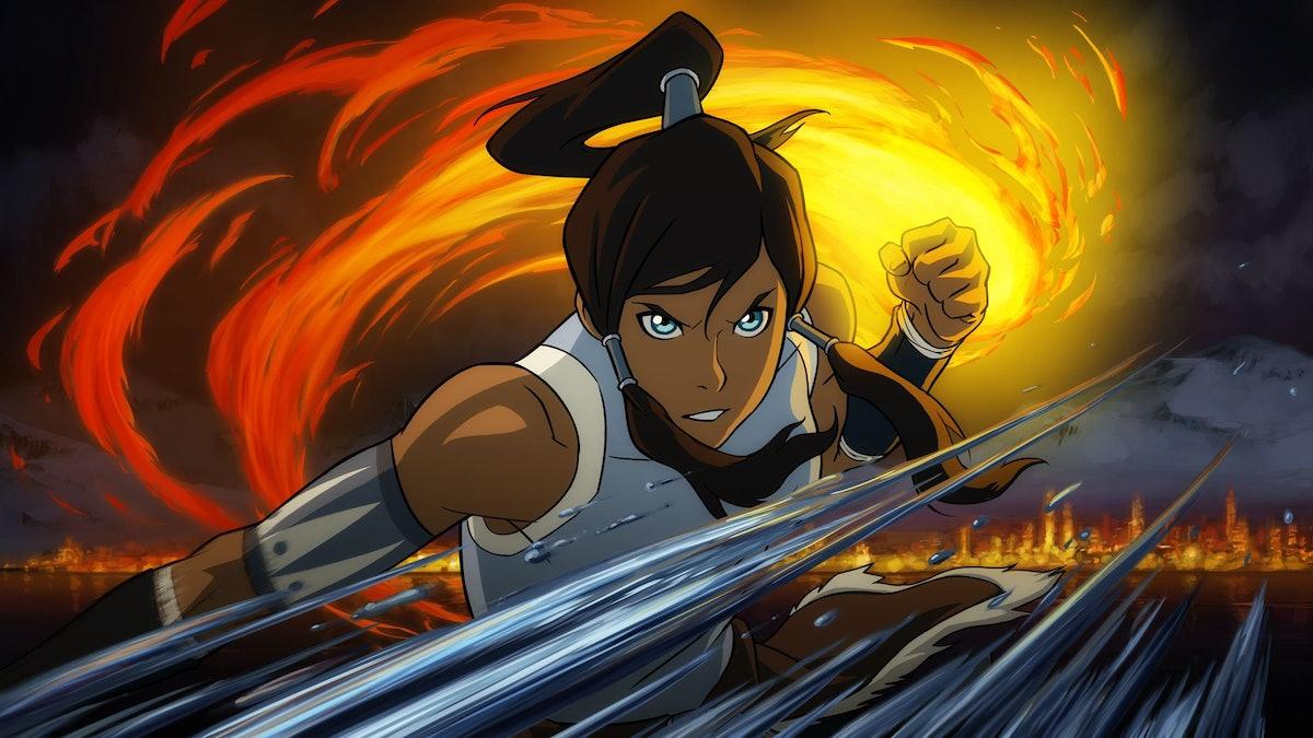 Nickelodeon show 'Legend of Korra' on Netflix