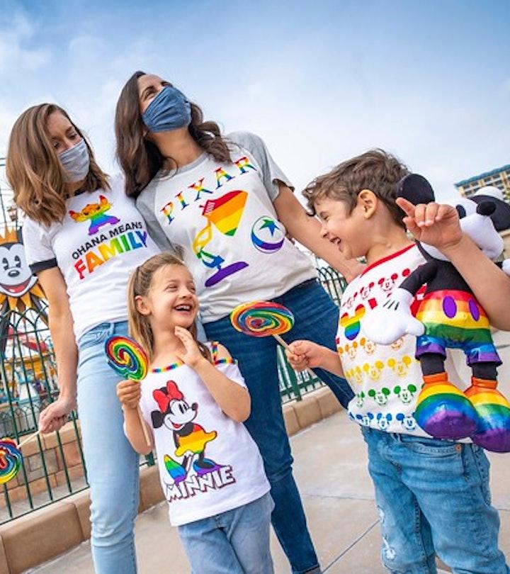 The Disney Pride line is full of rainbow goodies.