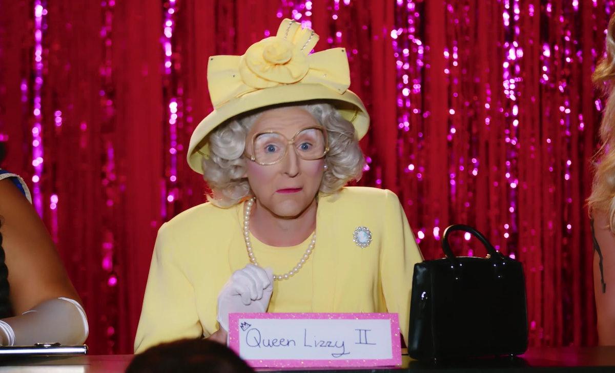 Anita Wigl'it won 'Drag Race Down Under' Snatch Game as Queen Elizabeth II.