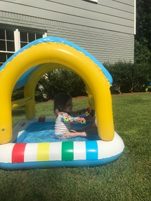 This $15 Target pool is the perfect size.