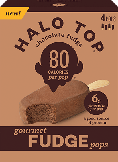 These Halo Top Fudge Tops will cool you down this summer.