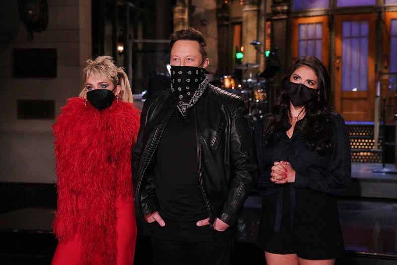 Miley Cyrus starred as the musical guest for the May 8 episode of 'SNL.' Photo via NBC