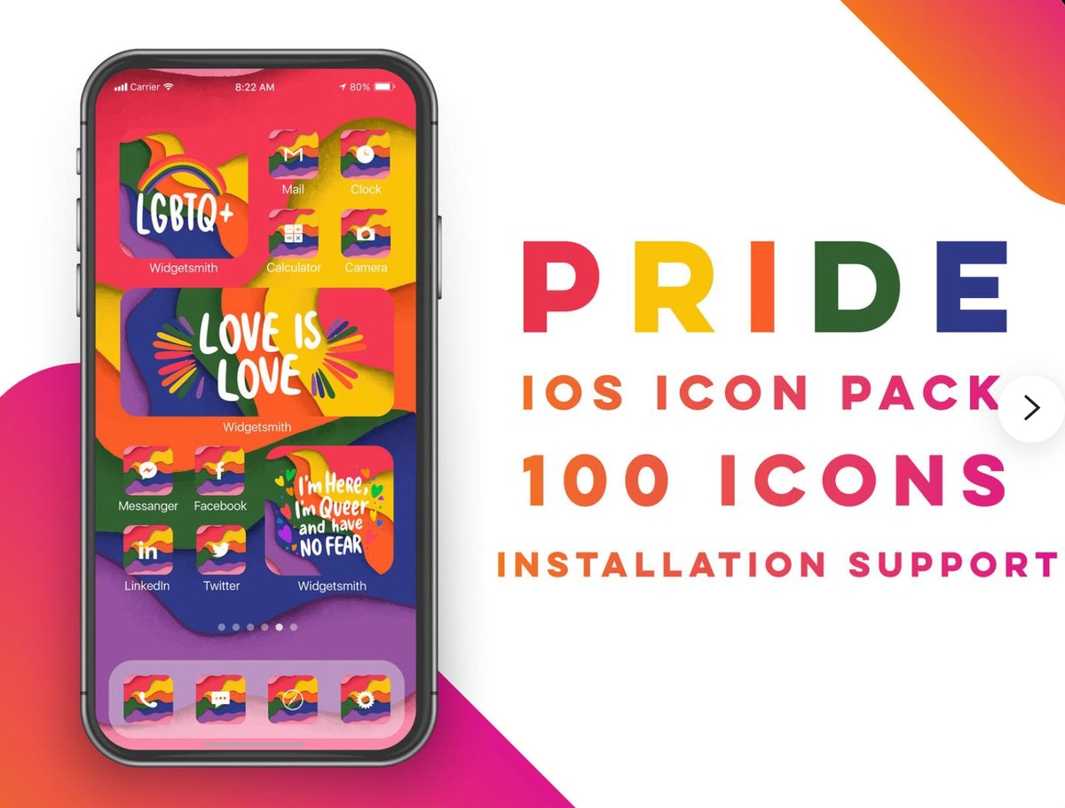 Pride iOS 14 Icons