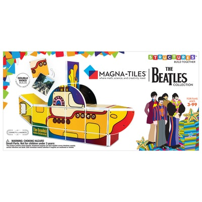 The Beatles Collection Magna-Tiles Structures