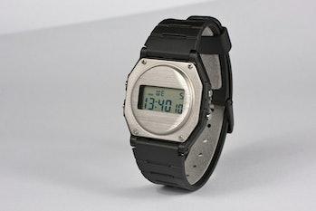 Industrial designer Finn Magee redesigned the classic Casio F-91 digital watch.