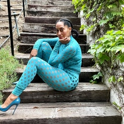Tracee Ellis Ross outdoor style