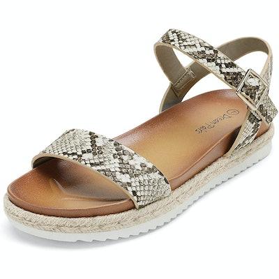 DREAM PAIRS Ankle Strap Espadrille Sandals