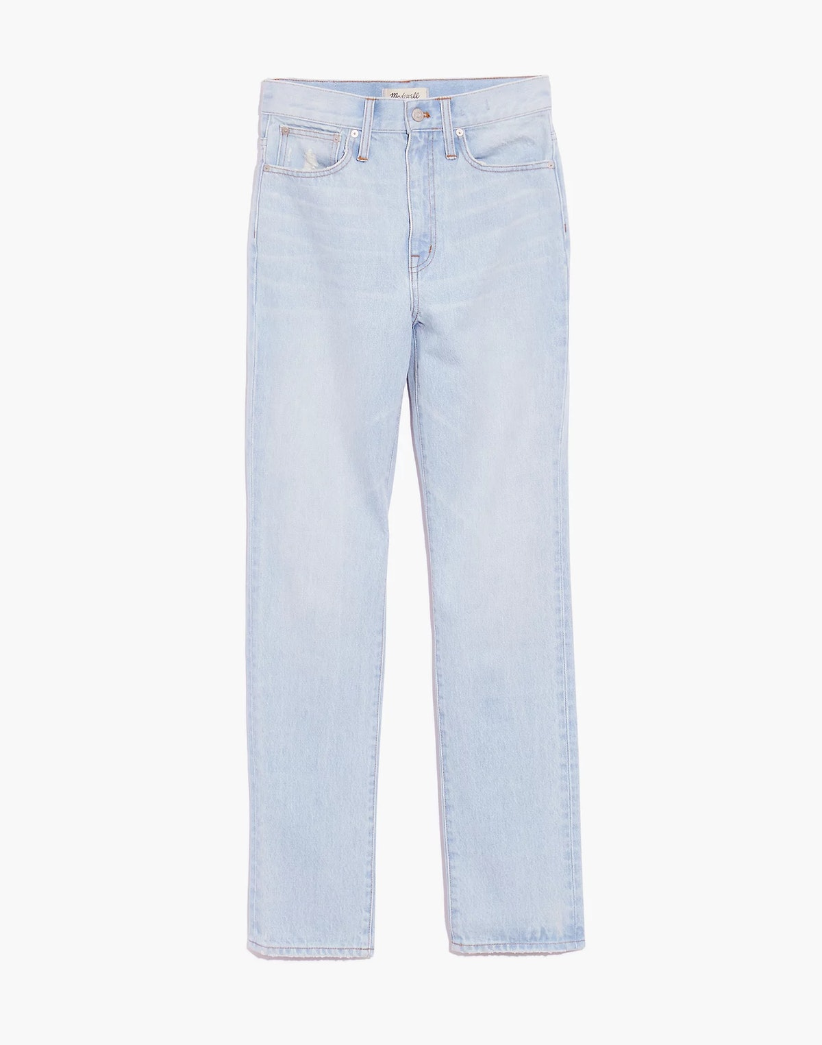 Classic Straight Full-Length Jeans
