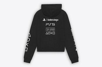 Balenciaga x Sony PlayStation 5 hoodie