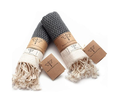 Smyrna Original Turkish Hand Towels (2-Pack)