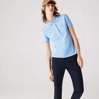 Women's Stretch Cotton Piqué Polo Shirt