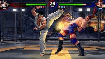 Virtua Fighter 5 Akira kick