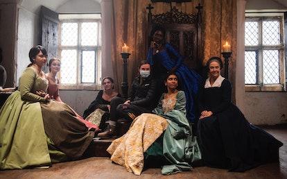 Anne Boleyn Channel 5 costumes jewellery