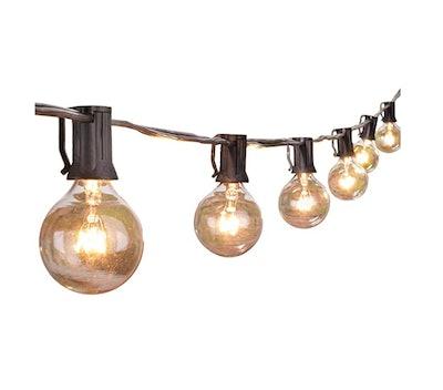 Brightown 25 Ft Outdoor String Lights