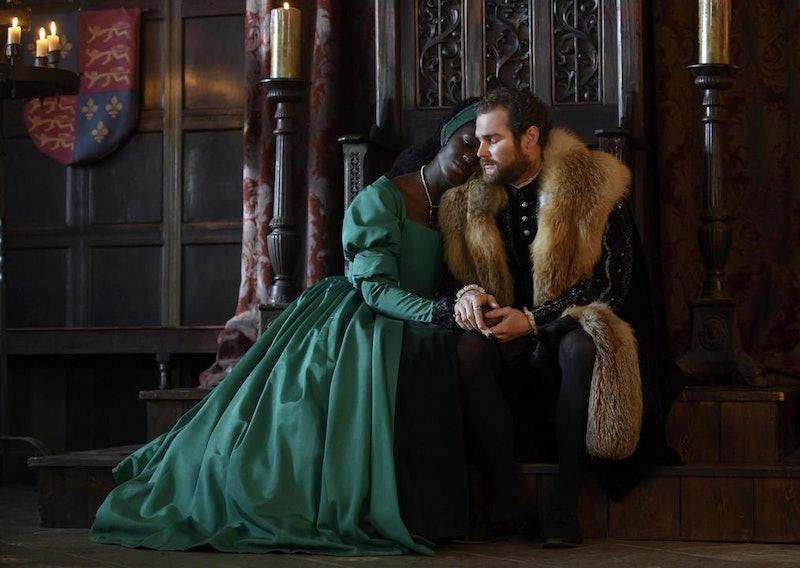 Anne Boleyn (Played by Jodie Turner-Smith) Henry VIII (Played by Mark Stanley)