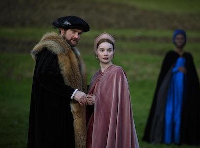 Anne Boleyn (Played by Jodie Turner-Smith), Henry VIII (Played by Mark Stanley), Jane Seymour (Played by Lola Petticrew)