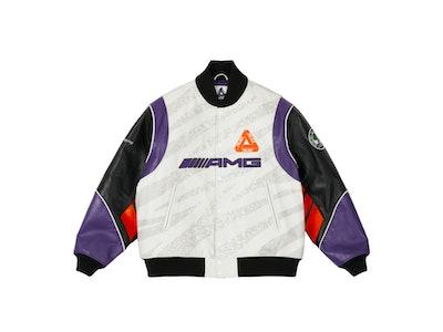 Palace Mercedes-AMG Leather Jacket