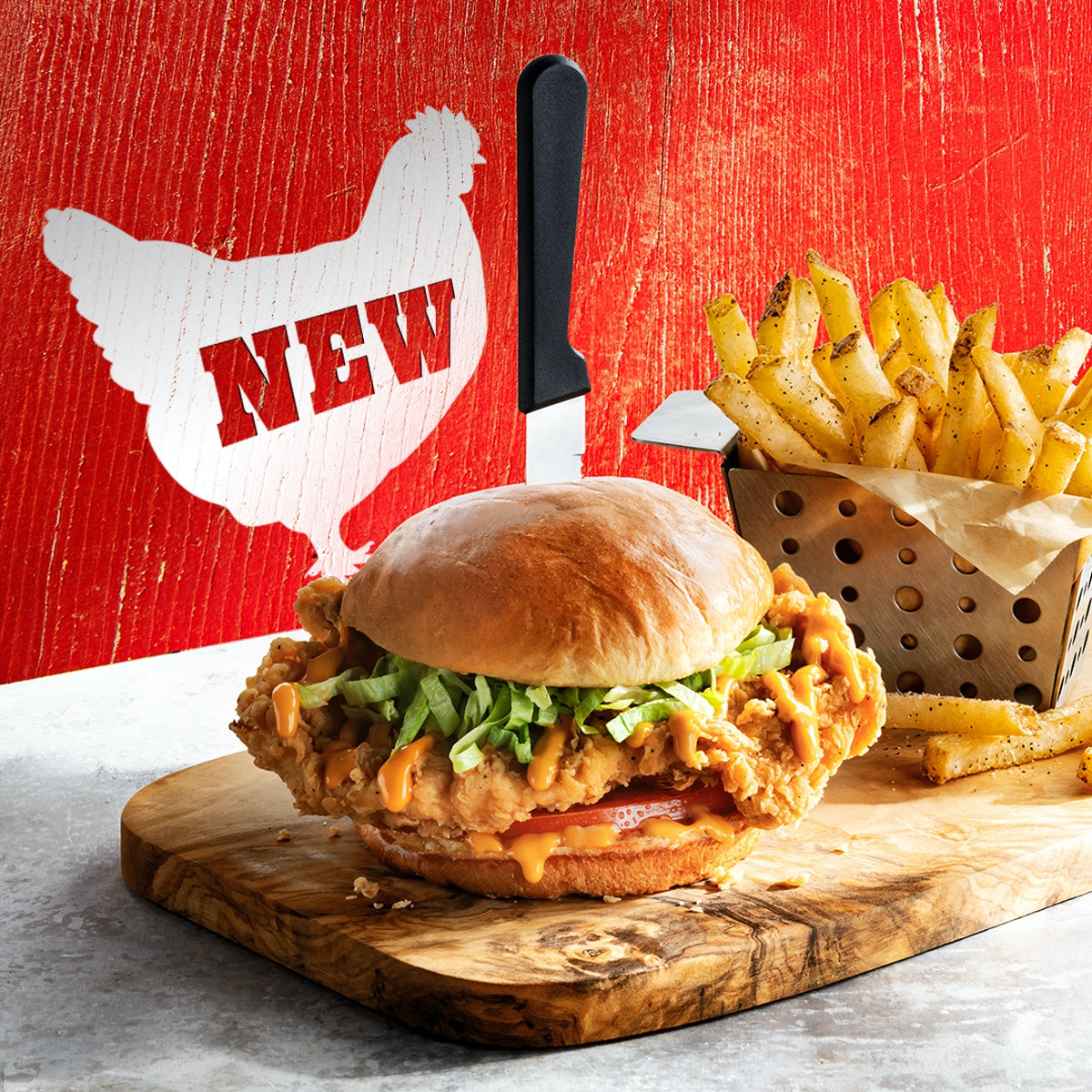 Chili's Chicken Sandwich is now available for a limited time.