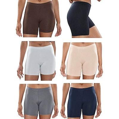 Sexy Basics Mini Bike Shorts (6-Pack)